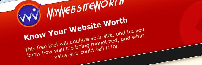web site worth